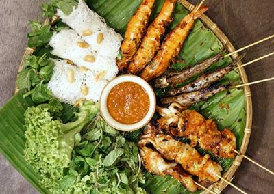 Grilled Spicy Seafood Platter