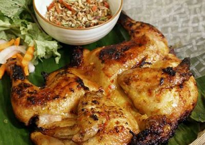 Signature Hand-Pulled Grilled Spring Chicken